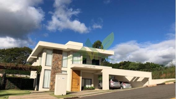 Moderna Casa Condominío Fechado Em Atibaia - 1075
