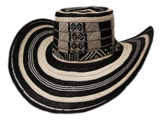 Sombrero Vueltiao Tradicional Con Pega