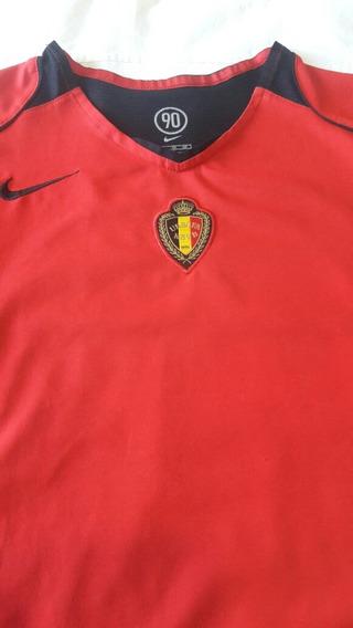 Camiseta De Fútbol De Selección Belga.