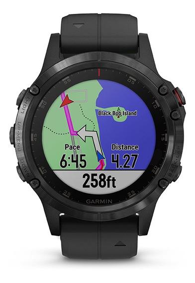 Nuevo Smartwatch Garmin Fenix 5 Plus Zafiro Negro Tienda Ofi