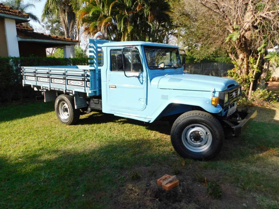 Toyota Bandeirante Cab Simples Chassi L