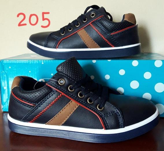 Gimbo Zapatos Deportivos Azul Marino Varon Talla 30 Y 31