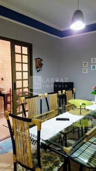 Casa Para Venda Em Bonfim Paulista No San Leandro, 3 Dormitorios Sendo 1 Suite Mais Salao Comercial Em 200 M2 De Area Total - Ca00809 - 34071592