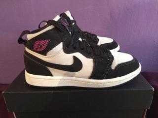 Air Jordan 1 Retro 1 High Blanco/negro 20.5 Cm