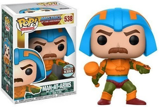Man-at-arms Funko Pop Masters Of The Universe 538