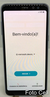 Samsung Galaxy A8 A530 Dual 64gb 16mp - Tela De Demonstração