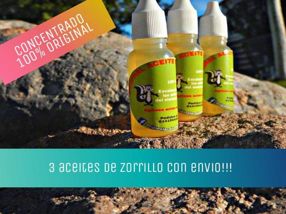 3 Aceites De Zorrillo