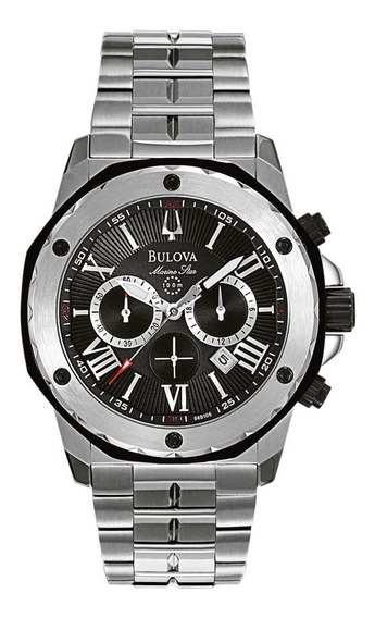Relógio Bulova Masculino Marine Star Wb30873t