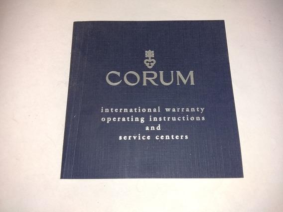 Instructivo Reloj Corum