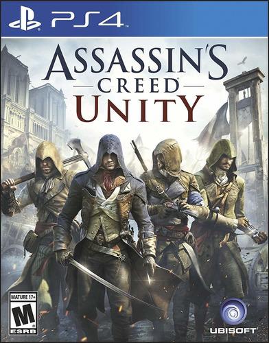 Imagen 1 de 1 de Assassins Creed Unity - Ps4 Fisico Nuevo Y Sellado