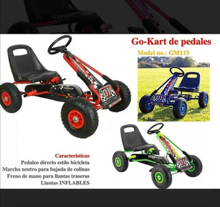 Auto A Pedales Tipo Karting