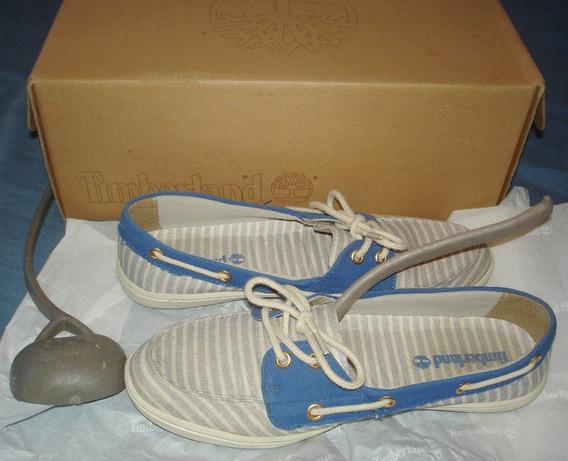 Timberland Zapatos Nauticos Mujer 36 Exelentes Unicos