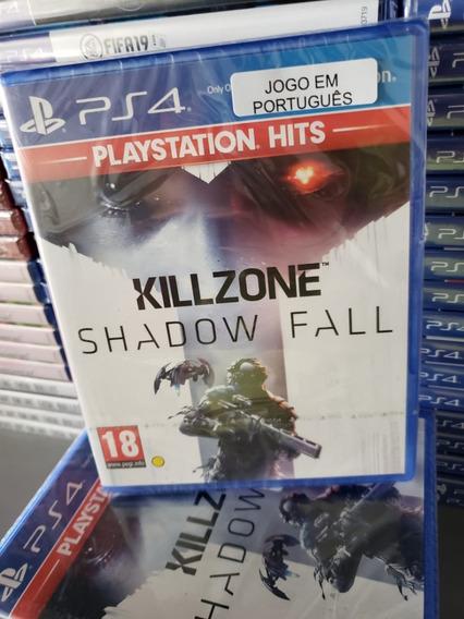Ps4 Killzone Shadow Fall Mídia Física Lacrado Em Português