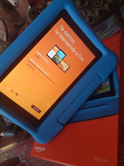 Tablet Para Niños Amazon Fire 7 Kids 16gb
