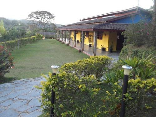 Chácara Com 4 Dormitórios, 12000 M² - Venda Por R$ 1.500.000,00 Ou Aluguel Por R$ 6.500,00/mês - Centro - Santa Isabel/sp - Ch0004