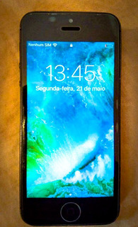 iPhone 5 Cinza Espacial, 16 Gb