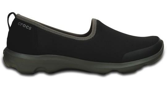 Zapato Crocs Dama Busy Day Stretch Skimmer Negro