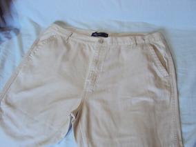 Calça De Sarja Creme Masculina Original Jeans Slim Tam 52