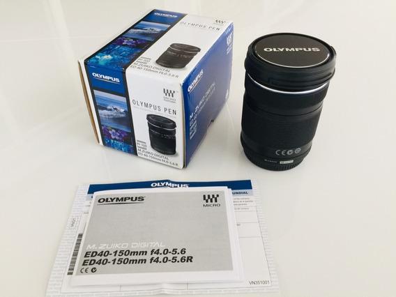 Lente Olympus M. Zuiko Digital Zoom 40-150mm