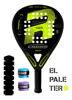Paleta Royal Padel - Cross Pro + 2 Cubre + Protector