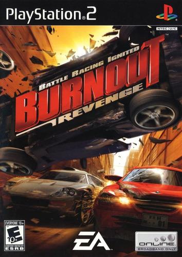 Burnout Revenge - Ps2 - Corrida De Carro - Frete R$ 17