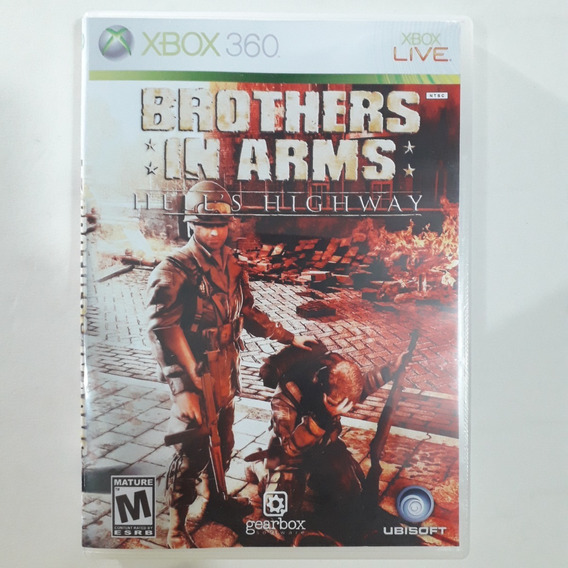 Xbox 360 - Brothers In Arms Hell´s Highway - Original Usa/ntsc - Mídia Física - Capa Reimpressa - Sem Manual