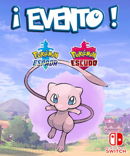 Mew / Evento Poké Ball Plus - Pokémon Escudo Espada Switch!
