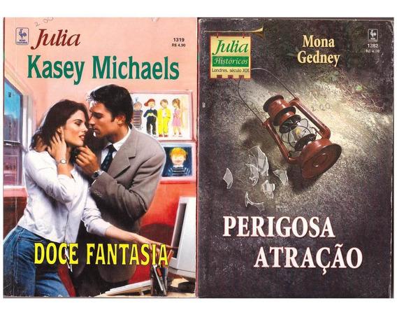 Coleção Romance 6 Livros Julia