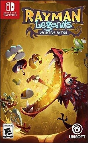 Rayman Legends Definitive Edition Switch Mídia Física Novo