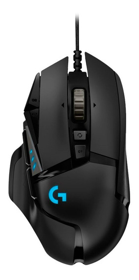 Mouse Gamer G502 Hero Original Logitech G Negro Usb