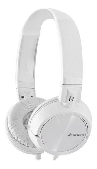 Fone De Ouvido Headphone Fortrek Branco Hpg-501wt P2