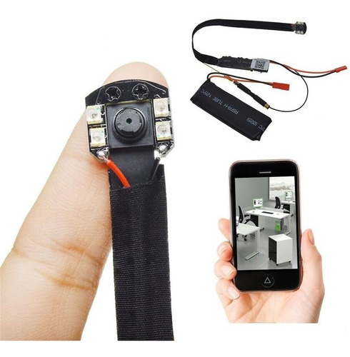 Camara Espia Hd Wifi Para Celular Vision Nocturna Solumatica