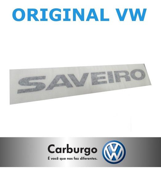 Emblema Adesivo Letreiro Saveiro G5 G6 G7 - Original Vw