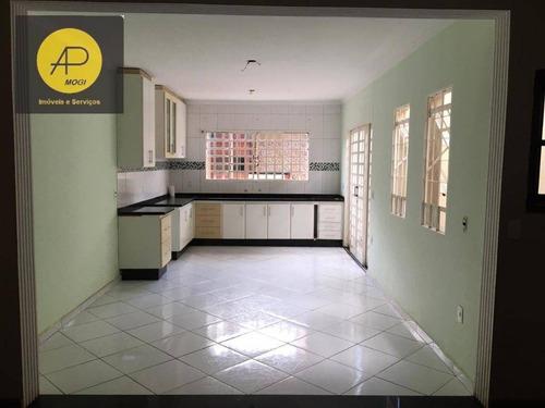 Imagem 1 de 19 de Sobrado Com 3 Dormitórios À Venda, 178 M² - Mogi Moderno - Mogi Das Cruzes/sp - So0136