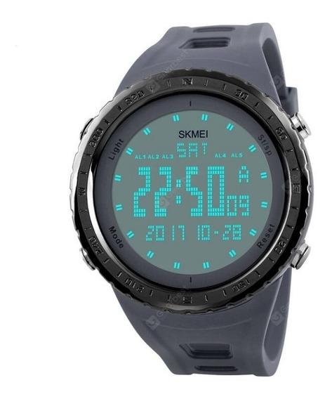 Relógio Masculino Skmei 1246 Digital Cinza
