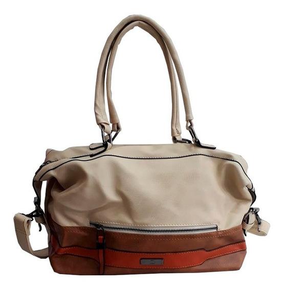 Cartera Mediana Combinada Mujer Bag Stage Su2082 Mapleweb