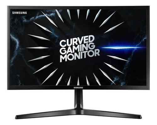 "Imagen 1 de 9 de Monitor gamer curvo Samsung Odyssey C24RG5 led 24"" negro 100V/240V"