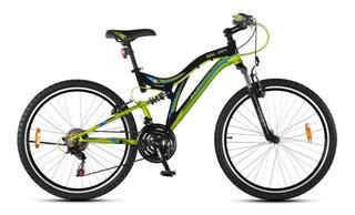 Bicicleta Aurora Dsx Rodado 20 Doble Suspensión Shimano