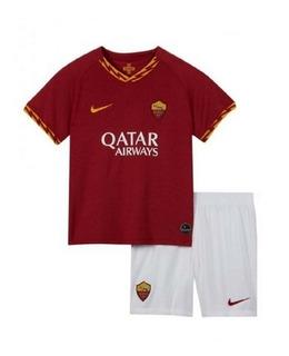 Kit Infantil Roma 2020 - Dzeko, El Shaarawy, Pellegrini