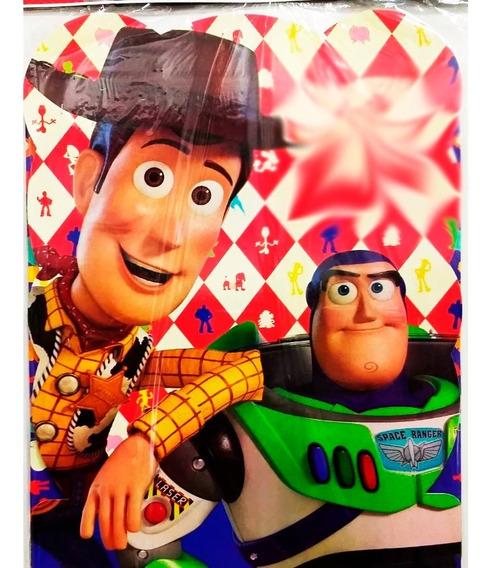 Piñata Toy Story 4 Carton Con Cuerda Para Jalar Proucto Ofic
