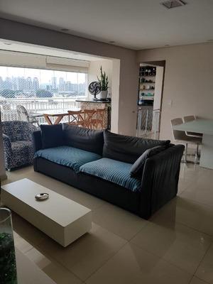 Apartamento Em Chácara Santo Antônio, São Paulo/sp De 130m² 4 Quartos À Venda Por R$ 1.100.000,00 - Ap190741