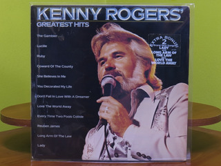 Kenny Rogers - Greatest Hits - Vinilo Lp, Usa 1980