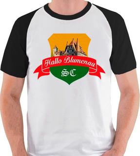 Camiseta Blumenau Santa Catarina Sc Camisa Blusa Raglan