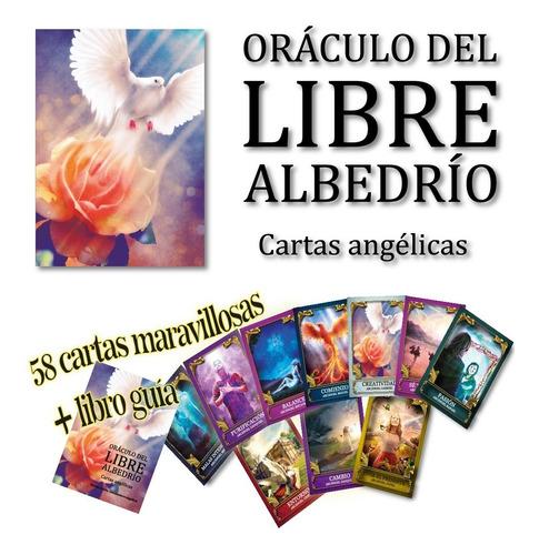 Cartas De Tarot Con Ángeles Y Acángeles - Libro Guía