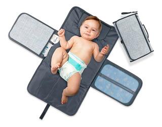 Cambiador Para Bebes Con Bolsillos Impermeable Excelente