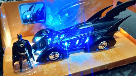 Batmobile Batman Forever 1/24 Jada Com Luzes