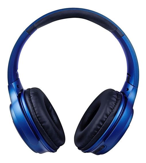 Fone De Headset Posh Bluetooth Com Microfone Hs312 Azul Oex