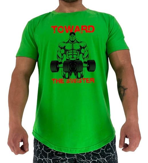 Camiseta Longline Toward The Sinister Academia Treino Força