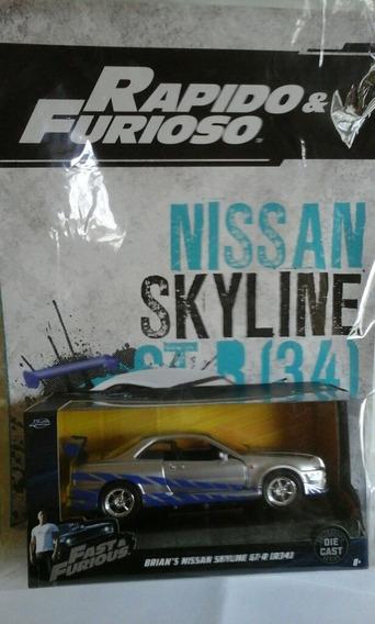Rapido Y Furioso Nissan Skyline Nacion N 4