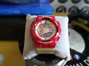 Relógio Casio G-shock Ga-110cs4adr Ed Lt Iron Homem De Ferro